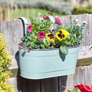 Crafty Gardens 12in Fence & Balcony Hanging Planter
