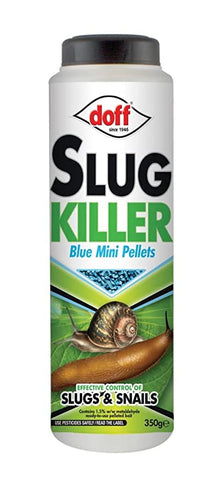 Crafty Gardens Doff Slug Killer Blue Mini Pellets - 800g