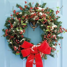 Load image into Gallery viewer, Crafty Gardens & Drones Stones Xmas Packs Wreath Christmas Card - Wreath 11812A 5021926118124