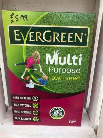 Crafty Gardens EverGreen Multipurpose Lawn Seed - 14m2