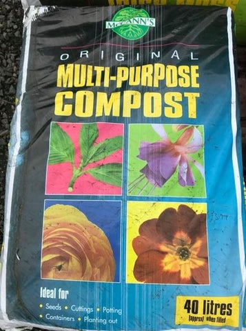 Crafty Gardens McCann's Multi Purpose Compost 40L