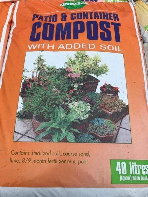 Crafty Gardens McCann's Patio & Container Compost 40L