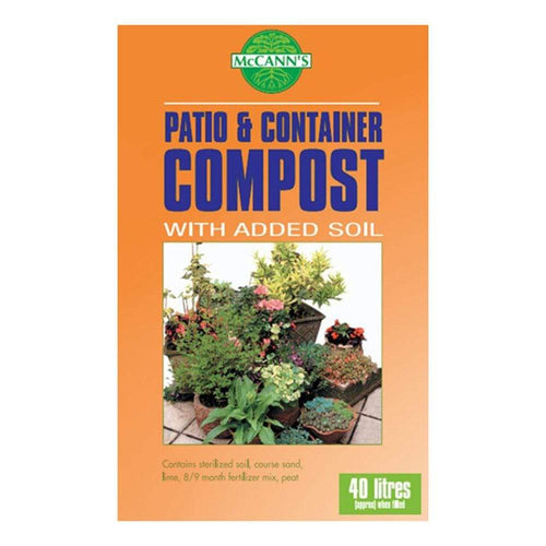 Crafty Gardens McCann's Patio & Container Compost 40L 01285765