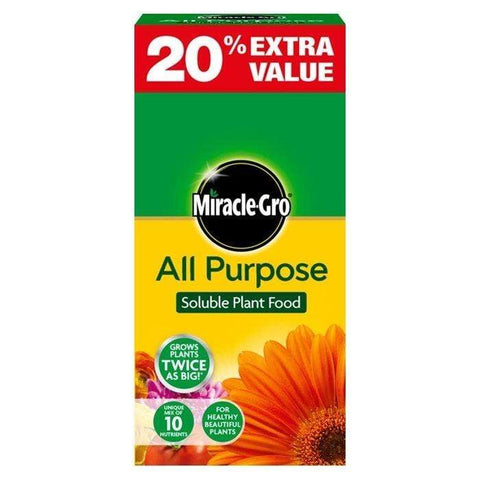 Crafty Gardens Miracle-Gro All Purpose Plant Food - 1kg Plus 20% Free