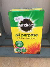 Load image into Gallery viewer, Crafty Gardens Miracle-Gro All Purpose Soluble Plant Food - 500g