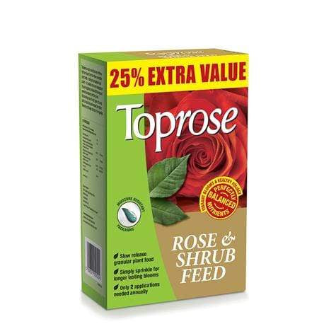 Crafty Gardens Toprose Rose & Shrub Feed - 1kg 25% Extra Free