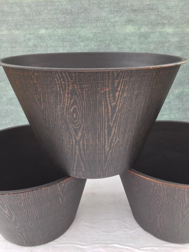 Crafty Gardens Wood Effect Planter 30cm