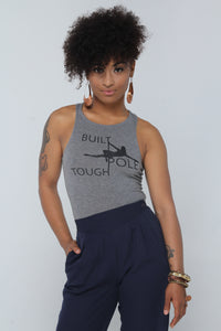 Built Pole Tough Crop Top