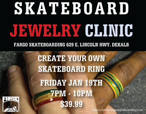 Skateboarding Jewelry Clinic