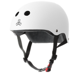 Triple 8 Certified Sweatsaver Helmet - White Rubber
