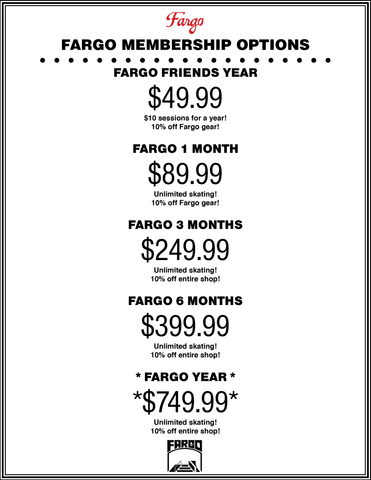 Fargo Membership Options