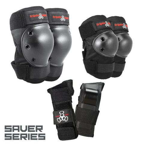 Triple 8 Saver Series 3-Pack Pads