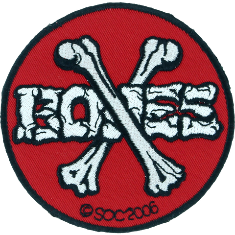 Bones Swiss Crossed Bones Patch