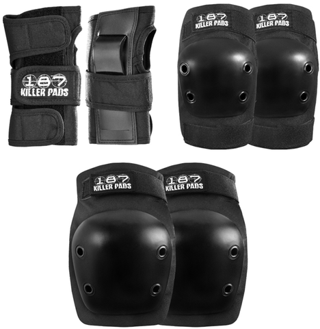 187 Killer 6-Pack Combo Junior Pad Set