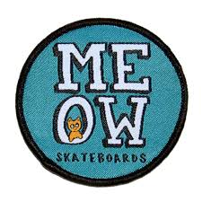 Meow Stacked Patch