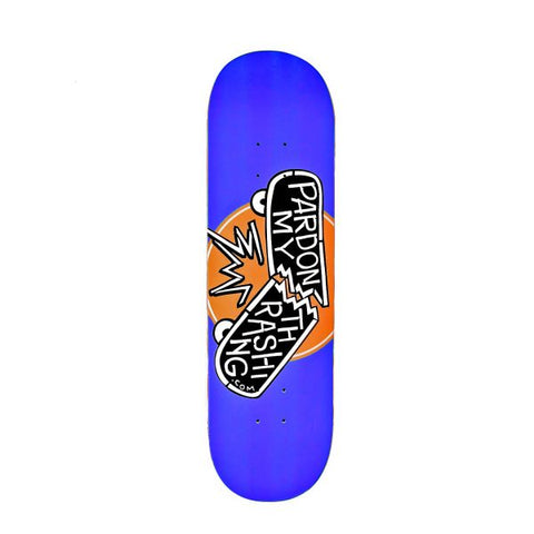 Pardon My Thrashing Logo Deck 8.6