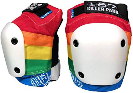 187 Killer Slim Rainbow Knee Pads