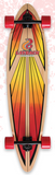 Layback Soul Ride Red Longboard Complete