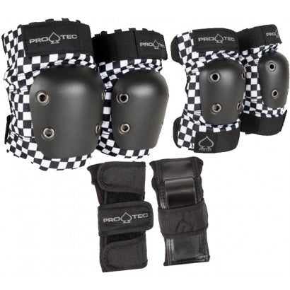 Protec Junior 3 Pack Checkered - Youth Small