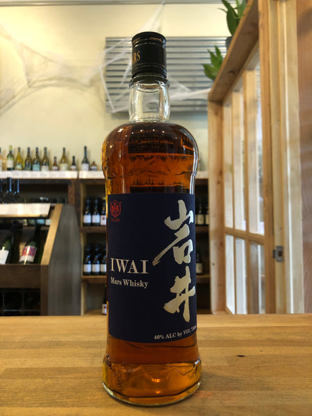 Mars Shinshu Iwai Whisky