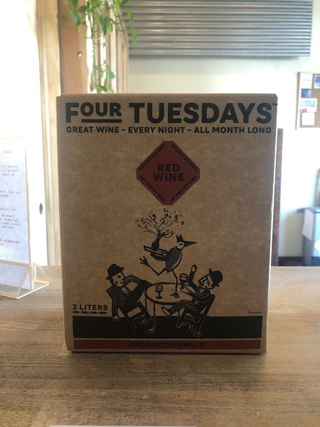 Four Tuesday's Rhone Blend box