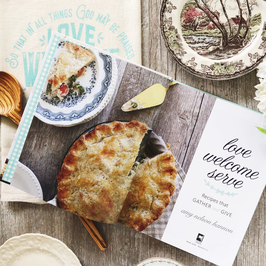 exclusive cookbook gift set {cookbook, linen & utensil}