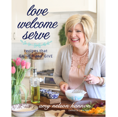 """Love Welcome Serve"" Cookbook 