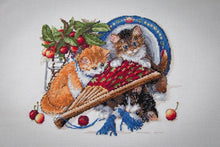 Load image into Gallery viewer, Kittens and Cherries