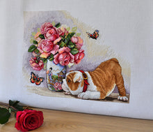 Load image into Gallery viewer, Bulldog & Butterflies