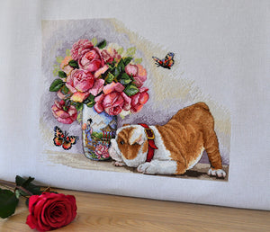 Bulldog & Butterflies