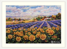 Load image into Gallery viewer, Fields of Lavender and Sun