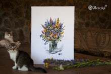 Load image into Gallery viewer, The Thistle Bouquet