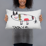 Kid's Art to Pillow