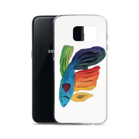 Kid's Art to Samsung Phone Case