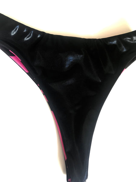Pink Leopard Brazilian bottoms