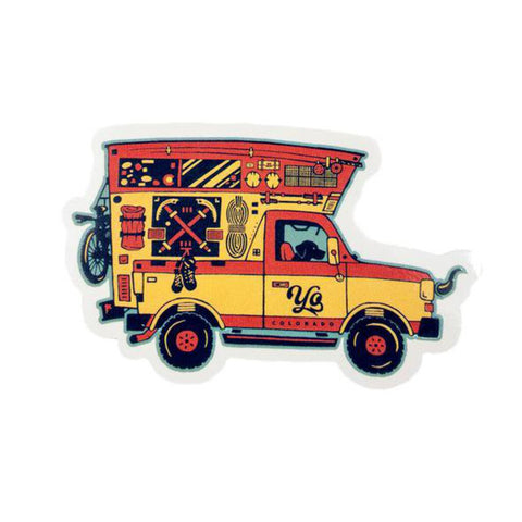 Adventuremobile Sticker