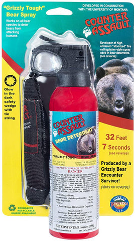 Bear Spray 32-ft w/Holster