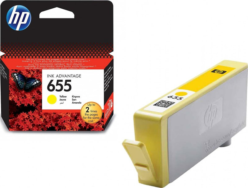 Ink Cartridge HP 655 Yellow