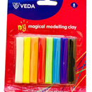 Moulding Clay Veda 8 pcs Assorted
