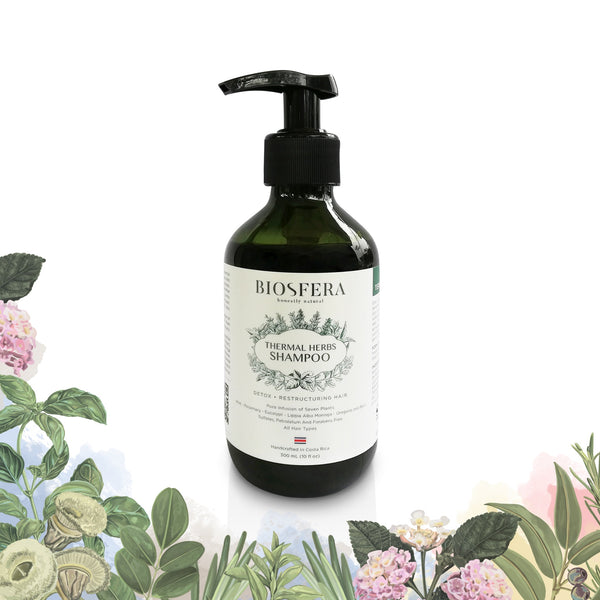 Herbal Shampoo (Thermal Water)