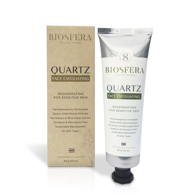 Quartz & Oat Extract Face Exfoliating