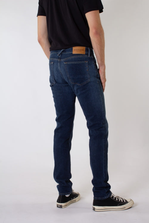 Jim Tapered Classic Indigo Kuyichi