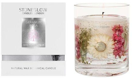 Nature's Gift Apple Blossom Natural Wax Gel Candle Vase with Gift Box