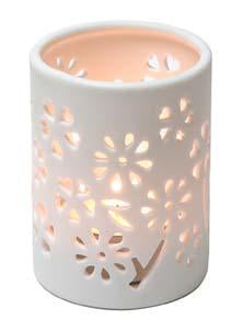 Ceramic Pierced Tealight Candle Holder