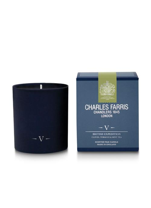 British Expedition Scented Candle Glass (FJ05)