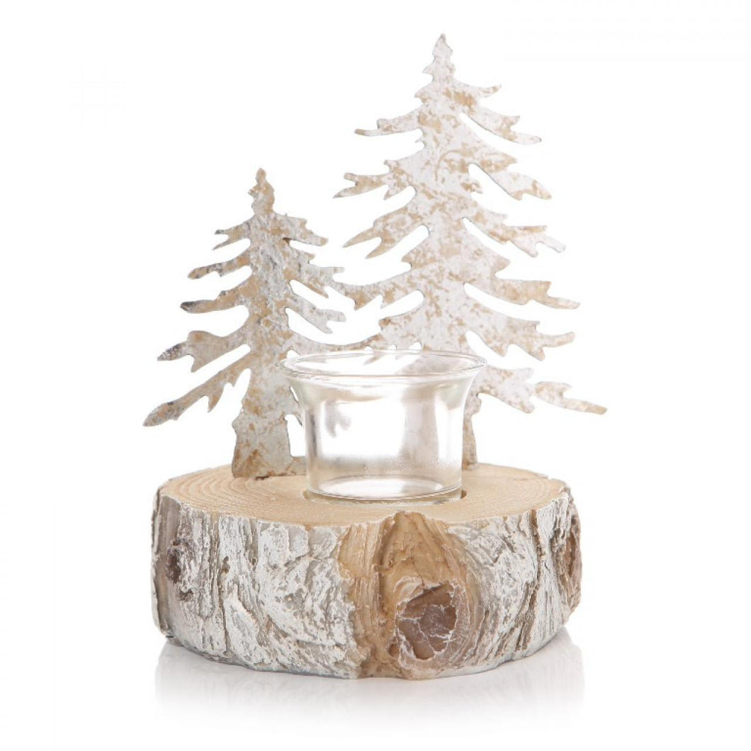 Christmas Scene Tealight Holder