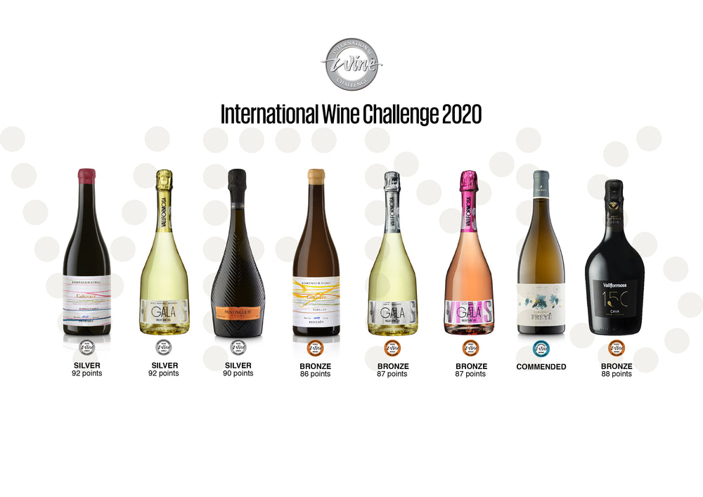 Las medallas de Vallformosa en los International Wine Challenge 2020