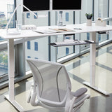 Humanscale Float Height Adjustable Desk - White