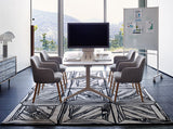 Fursys CS7600 Visitor Chair in Grey