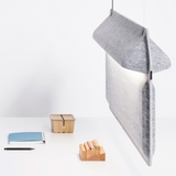 Devorm AK2 Workplace Divider Lamp - Grey